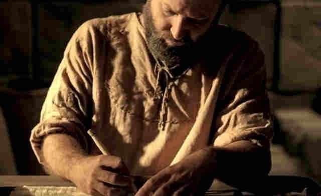 apostle paul pens a letter